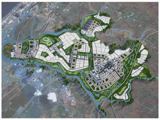 ISET đề xuất giải pháp quy hoạch phía nam thành phố.