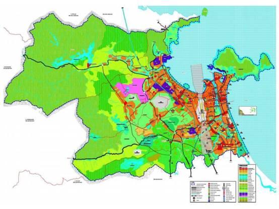 Bản điều chỉnh quy hoạch chung xây dựng Tp Đà Nẵng đến năm 2030 và tầm nhìn đến năm 2050