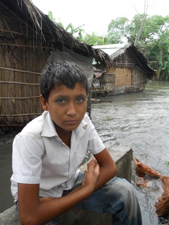 13 year old boy from Khulna, Bangladesh