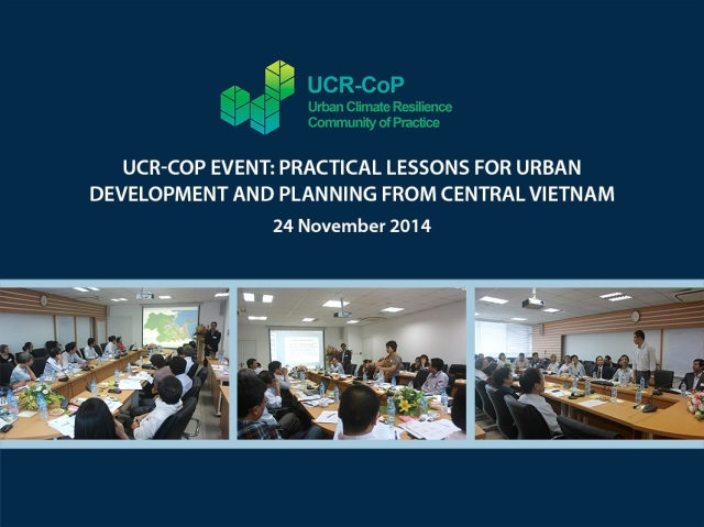 UCR-CoP 2014 year-end event