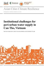 Institutional Challenges for peri-urban water supply