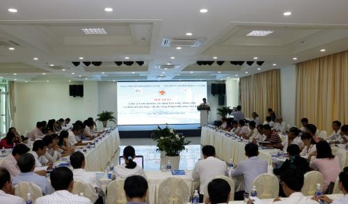 The workshop overview (Photo: Thanh Liem/TTXVN)