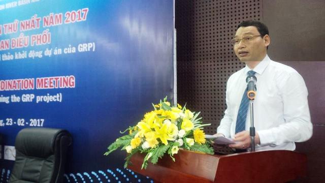 Ông Hồ Kỳ Minh, Phó Chủ Tịch UBND thành phố Đà Nẵng phát biểu khai mạc