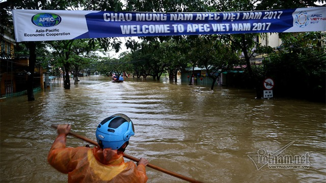 Hoi An flood APEC